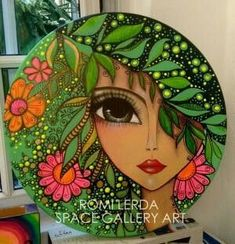 Risultati immagini per romi Lerda Pottery Painting, Dot Painting, Ceramic Painting, Art Pop, Art Fantaisiste, Plate Art, Whimsical Art, Doodle Art, Female Art
