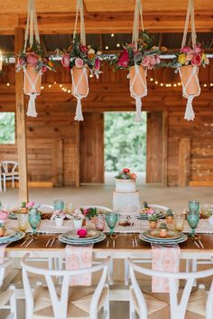 Southwest Wedding Ideas at Tatum Acres with event design by The Perfect Palette and florals by Stems Atlanta