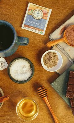 Try this soothing hot cocoa recipe infused with stress-relieving skullcap.*