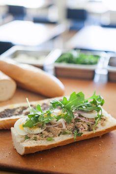 Fancy Tuna Sandwich   recipe by Black Hogg via Oh, Joy!