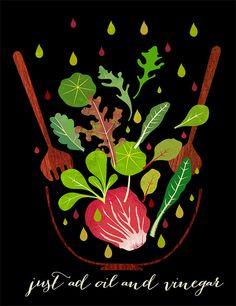 just ad oil and vinegar by Sevenstar aka Elisandra, via Flickr #food #texture…
