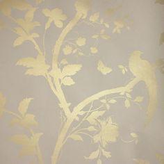 josette white dove grey damask wallpaper at laura ashley. Black Bedroom Furniture Sets. Home Design Ideas