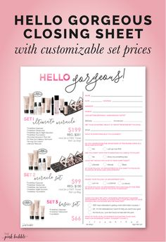 You guys! This set sheet is so amazing, it started as a project for a  member & I just had to get it added to the site as soon as possible! It  then underwent a little makeover with the help of NSD Auri Hatheway!You  can customize the prices & discounts on each of the sets, as well as the  special offer below. Plus, on the other side is a handy survey! This sheet  focuses simply on the TimeWise Basic, Miracle & Ultimate.  You can find this set sheet & others HERE!  Enjoy!