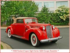 1938 Packard Coupe Roadster