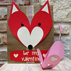 morena's corner: How to Make Animal Themed Valentines with American Crafts