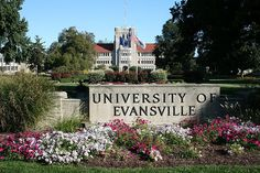 University associated with Evansville