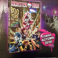 All about Monster High: Boo York, Boo York! A Monsterrific Musical