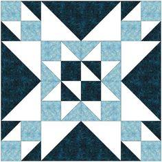 Big Block Quilts, Star Quilt Blocks, Lap Quilts, Scrappy Quilts, Mini Quilts, Barn Quilt Patterns, Pattern Blocks, Square Patterns, Sewing Patterns