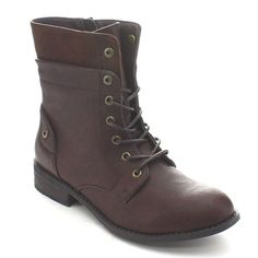 Wild Diva OKSANA-57 Women's Combat Motorcycle Biker Lace Up Ankle Boots -- This is an Amazon Affiliate link. Check out this great product.