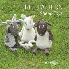 Rowan Sheep Toys - Free Knitting Pattern