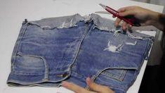 DIY - Como Desfiar Seu Jeans passo a passo / How To Make A Destroyed Jea...