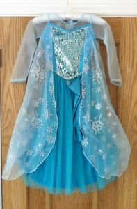 frozen elsa dress | ... about ELSA - Disney Store Official New Elsa Frozen Dress Age 3-4