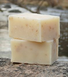 DIY Oatmeal soap - can also add •1 1/2 cups grated white unscented soap or Castile soap     •1/2 cup oatmeal (or crushed almonds, or pumice, or your choice of additive)     •2 tablespoons honey   •2 teaspoons almond oil (or your choice of nourishing oil)     •5ml - 15ml essential oils or fragrance (depending on strength of scent)