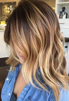 medium length hairstyles 2018 | 220 Best Hair Color Styles | 25 best ideas about unique ...