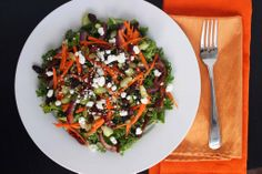 Curry Kale Quinoa Salad by Out To Lunch Creations - gluten free, vegetarian, nut free