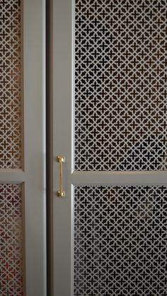locker detail - perforated metal - amanda orr architects