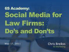 Social Media for Law Firms