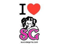 suicide girl logo -
