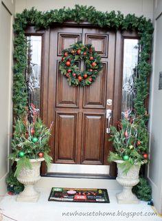 50 Stunning Christmas Porch Ideas   Christmas Decorating   Style Estate