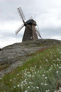 Windmill in Fiskebackskil, Sweden