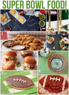 8 Super Bowl Food and Recipe Ideas