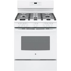 Bad reviews of poor quality finish and breaking down.  One review sd CANNOT turn on oven light w/o opening door. GE 5-Burner Freestanding 5-cu ft Self-Cleaning Gas Range (White) (Common: 30-in; Actual: 30-in) $599 broiler in oven.  can turn on oven light w/o opening door.  Rebate also.
