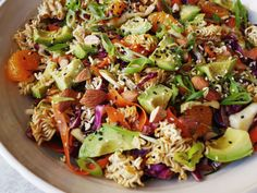 This Ramen Noodle Salad Crushes The Lunch GameDelish