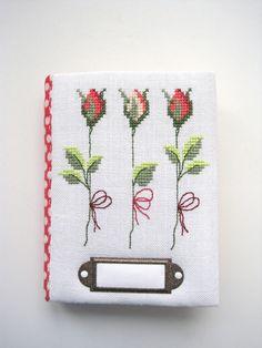 cross stitch hand made notebook Rico design вышивка блокнот ручной работы