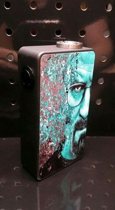 Breaking Bad Box Mod #vape #boxmod #breakingbad Buy liquid for e cigarettes at www.ecigar.in