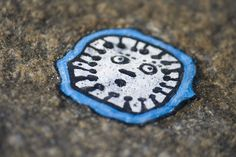 Ben Wilson's chewing gum art at Trinity Buoy Wharf
