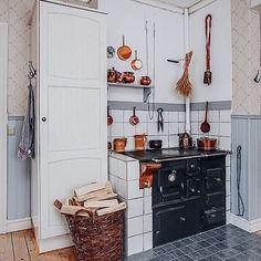 Copper kitchen details