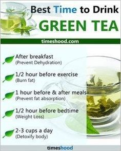 [orginial_title] – Detox Best Time to drink green tea. When to drink green tea for weight loss. (minus th… Best Time to drink green tea. When to drink green tea for weight loss. (minus the time drinking it before bed time😳…) Weight Loss Tea, Green Tea For Weight Loss, Weight Loss Snacks, Weight Loss Drinks, Losing Weight, Healthy Detox, Healthy Drinks, Detox Foods, Easy Detox