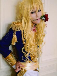 Few people can pull off the look of Oscar François de Jarjayes (from the series ベルサイユのばら, also known as The Rose of Versailles) - But this cosplay is absolutely brilliant! #LadyOscar #cosplay