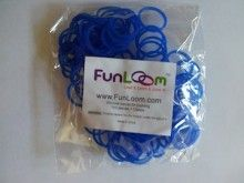 Blue FunLoom Rubber Bands