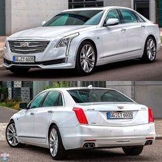 Cadillac CT6 2017 Olha quem resolveu invadir a Europa: o sedãn CT6 desembarca pela primeira vez no velho continente como opção aos tradicionais modelos de luxo alemães. O @cadillac oferece visual diferenciado com muita tecnologia embarcada. Será vendido com bloco V6 3.0 biturbo de 417 cv e 555 Nm de torque e câmbio automático de oito velocidades. O preço começa nos  73.500 (versão Luxury) até 94.500 (Platinum). Siga @carroesporteclube  #Cadillac #CadillacCT6 #sedan #luxurycars #CT6 #turbo…