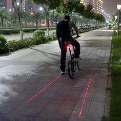 Set of 2 Bike Laser Tail Lights – GoAmiroo Store