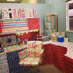 Covering everything in wrapping paper. | 23 Office Pranks That Went Way Too Far