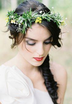 rosemary wedding crown - Google Search