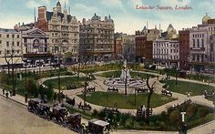 Leicester Square--England - Leicester Square Hotel where I would always stay when in town.
