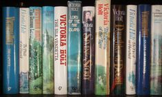The Victoria Holt novels tended to be historical, with unusual settings, dark and often dangerous heroes and a feisty heroine. Description from ros-readingandwriting.blogspot.com. I searched for this on bing.com/images