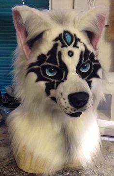 White wolf airbrushing by FarisBatwan
