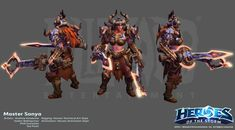 The Art Of Blizzard's Heroes Of The Storm