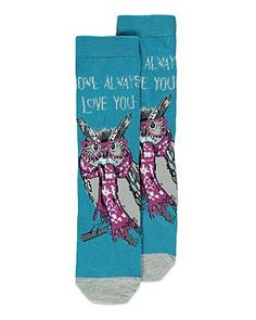 Owl Always Love You Socks... I want them por favor