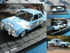 coche/voiture/car Ford Escort RS1600  Rac Rally 1973  T.Mäkinen 1:43 ixo-altaya