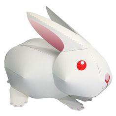 Rabbit - Other Animals - Animals - Paper Craft - Canon CREATIVE PARK