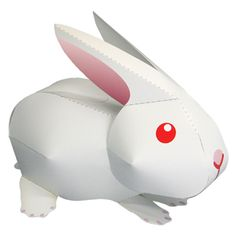 Rabbit - Other Animals - Animals - Paper Craft - Canon CREATIVE PARK