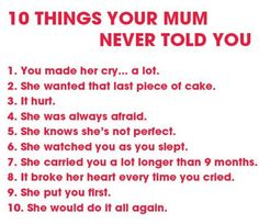 This is why mums are just the best
