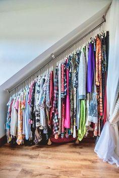[Smart Organizing] Creative Storage Ideas for . - [Smart Organizing] Creative Storage Ideas for . Bedroom Storage For Small Rooms, Small Space Bedroom, Loft Storage, Storage Design, Storage Spaces, Diy Storage, Eaves Storage, Small Space Storage, Storage Cart