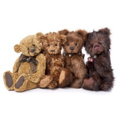 Anniversary Bears Collection of 4 Bears