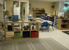 Lamps in the classroom, no hideous fluorescent lighting!  HPUMP